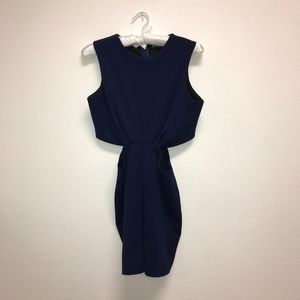 Missguided Navy Romper